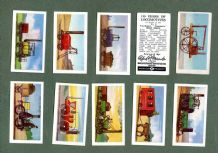 Trade / Cigarette cards set 150 years of Locomotives 1956